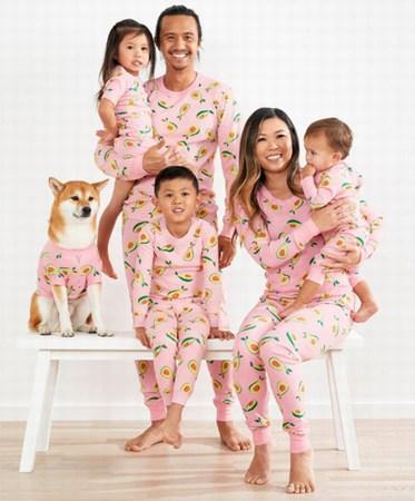 Kids Matching Pajamas Photoshoot, Kids Pjs Photoshoot