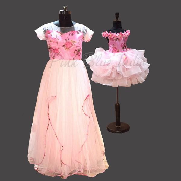 Mom & Daughter Matching Dress